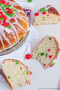 Julekage - Norwegian Christmas fruit bread recipe