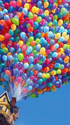 Up Balloon screensaver (iPhone 5)