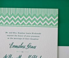 love the mix of types and the chevron details