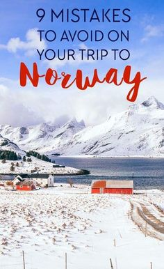 9 Mistakes People Make on Their Trips to Norway If you're planning any Norway holidays, here are the top mistakes people make on their trips to Norway so you can avoid them! Norway Vacation, Norway Travel, Hiking Norway, Trips To Norway, Honeymoon In Norway, Cool Places To Visit, Places To Travel, Travel Destinations, Trondheim
