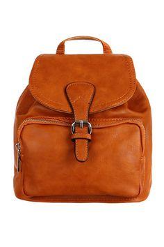 Malý dámský koženkový batoh do města Leather Backpack, Backpacks, Zip, Bags, Fashion, Dinner, Purses, Fashion Styles, Leather Backpacks