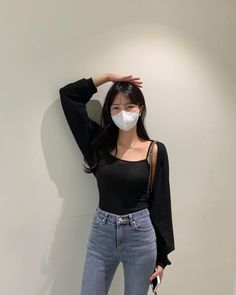 Korean Girl Fashion, Ulzzang Fashion, Korean Street Fashion, Kpop Fashion Outfits, Korean Outfits, Couple Outfits, New Outfits, J Hope Dance, Aesthetic Clothes