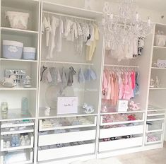 "5,591 Likes, 60 Comments - Decor For Kids® | Home Decor (@decor_for_kids) on Instagram: ""A gorgeous boy-girl shared closet with plenty of storage Credit to @baby_mayssa"""