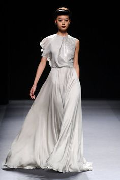 Love pretty much this WHOLE collection. Jenny Packham. NYFW Fall 2012