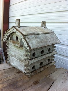 Awesome Old Birdhouse