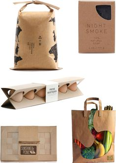 Recycled packaging inspiration via Mod Pieces Blog