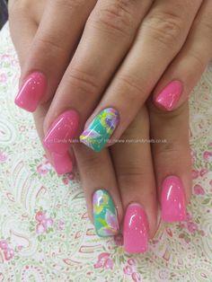 paisley almond nails - Google Search