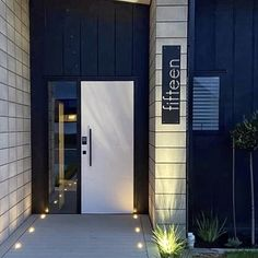 NZ steel Matt black house number or street sign Outdoor Art, Outdoor Gardens, Outdoor Decor, Garden Wall Art, Nz Art, Steel Art, Steel House, Good House, Street Signs