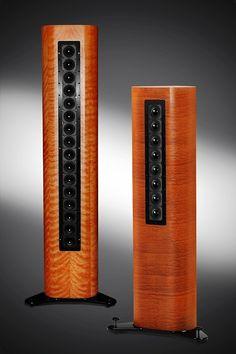 Audience's A3; full range line array loudspeaker.
