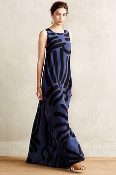 Lily Silk Maxi Dress #anthropologie #anthrofave