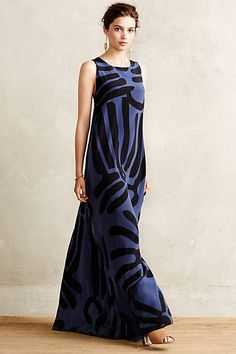 Lily Silk Maxi Dress #anthropologie #anthrofave
