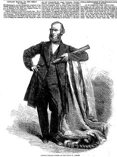 CAPTAIN WILSON, OF THE EMILY ST. PIERRE . The Penny Illustrated Paper (London, England), Saturday, May 24, 1862