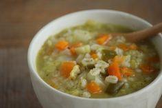 GWの食べ過ぎに♪押し麦とたっぷり野菜のデトックススープ : ビジュアル系フード Powered by ライブドアブログ Cheeseburger Chowder, Thai Red Curry, Soup, Ethnic Recipes, Blog, Blogging, Soups