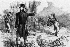 Andrew Jackson se batió en duelo y mató al mejor duelista de su época - Cuaderno de Historias