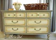 Refinished dresser/changing table