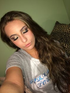 Makeup done by me