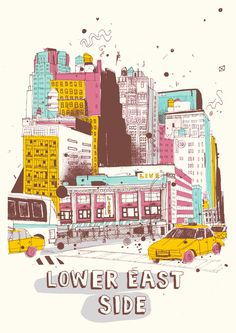 Lower East Side by James Gulliver Hancock - I'm thinking of the song, Stereo Hearts