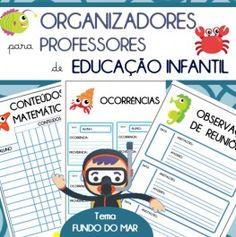 Código 648- Organizadores para professores de Ed . Infantil