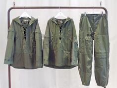 リメイクの粋を超えた1アンドオンリー「REBUILD by NEEDLES」充実したラインナップが店頭に到着 Camo Jacket, Field Jacket, Military Jacket, Fashion Wear, Mens Fashion, Preppy Boys, Cotton Jumpsuit, Japanese Fashion, Military Fashion