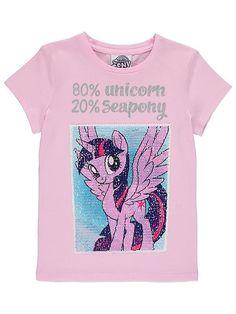 My Little Pony kääntöpaljetti t-paita