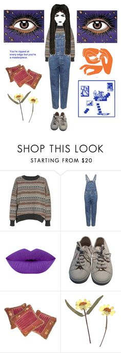 """""""boho babe"""" by flowerofevil ❤ liked on Polyvore featuring Wood Wood, Topshop, Coloured Raine and Superga"""