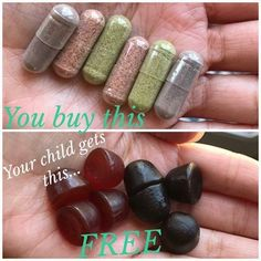 The easiest way to to get more fruits and veggies into your family's bodies just got even better. YOUR CHILD or GRANDCHILD can get the Juice Plus+ gummies for FREE with any adult order!! momonamssion.juiceplus.com