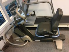 Meet the newest addition to our training team, NuStep! This machine provides a low-impact, total-body cardio and strength workout.