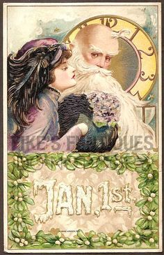 New Year Samuel Schmucker Vintage Postcard - Winsch