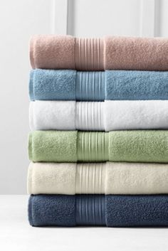 Hydrocotton Bath Towels Enchanting Supima Washcloth Hand & Bath Towels From Lands' End  For The Home Design Inspiration