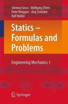 Formeln Und Aufgaben Zur/ Statik Authors: Technischen Mechanik/ Engineering Mechanics