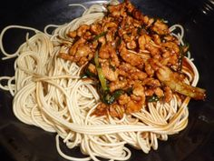 Pork and scallion noodles - http://shanghaiist.com/2012/09/19/cong_you_rou_si_ban_mian_lao_difang.php