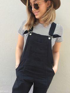 Tessuti Fabrics - Pattern Review - Gabby's Turia Dungarees - Pauline Alice
