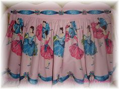 **Queen Of Dreamsz ♥ Stephanie Suzanne Designs: Apron made from my vintage Ballerina fabric
