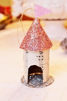 Recycled Toilet Paper Roll Ornaments | AllFreeHolidayCrafts.com