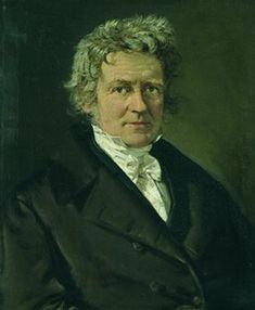 Friedrich Wilhelm Bessel (1784-1846). (Portrait by Christian Albrecht Jensen) Prussian astronomer and mathematician, director of the Königsberg Observatory, and the first person to be credited with measuring the distance to a star using parallax.