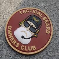 Tactical Beard Owner Club Patch