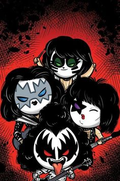 All The Latest KISS News, Press Release and Appearance Information Kiss Rock Bands, Kiss Band, Paul Stanley, Kos, Banda Kiss, Rock Band Photos, Kiss World, Graffiti Doodles, Hello Kitty Art