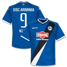 Saller Arminia Bielefeld Home Klos 9 Shirt 2014 2015 Arminia Bielefeld Home Klos 9 Shirt 2014 2015 (Fan Style Printing) http://www.comparestoreprices.co.uk/football-shirts/saller-arminia-bielefeld-home-klos-9-shirt-2014-2015.asp