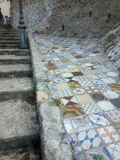 Ancient Mosaics - Sperlonga, Lazio, Italy