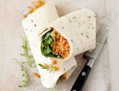 Carrot and Hummus Wraps http://www.bbcgoodfood.com/recipes/1377639/carrot-and-houmous-rollups