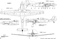 Ta 152, Hawker Tempest, Focke Wulf 190, Warrant Officer, Daimler Benz, Landing Gear, Pre Production, Aviation Art, Technical Drawing