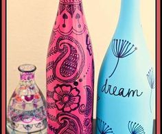 upcycled wine bottles, crafts, repurposing upcycling
