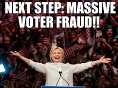 Next step in the election fraud...... #hillary #hillaryForPrison http://www.zazzle.com/collections/activisim-119145856516738396 http://www.cafepress.com/godhelpusnow