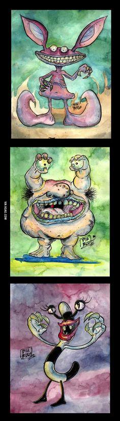 Ahhh! real monsters
