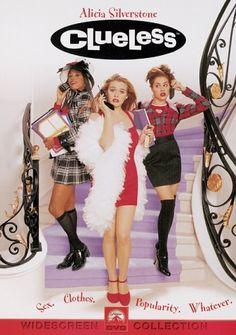 "Clueless (1995) • Alicia Silverstone, Paul Rudd, Breckin Meyer, Brittany Murphy, Stacey Dash, Donald Faison, Jeremy Sisto, Dan Hedaya, Wallace Shawn, Justin Walker ——— ""As if!"""