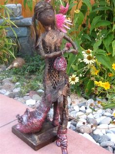 Garden Inspirations   Sculptures   Sculptures / Art  Www.gardeninspirations.ca #powertex #