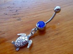 #ChelseaJewelsArtfire on Artfire                    #ring                     #Belly #Button #Ring #Body #Jewelry #Silver #Turtle #Belly #Button #Ring      Belly Button Ring - Body Jewelry - Silver Turtle Belly Button Ring                                      http://www.seapai.com/product.aspx?PID=80146