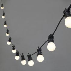 £40 - 50 per length 20 Warm White LED Connectable Festoon Lights