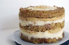 carrot layer cake + pumpkin ganache = all around win. must try making.