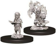 Pathfinder Battles Deep Cuts Unpainted Miniatures: Male Gnome Sorcerer Gnomes, Battle, Miniatures, Collection, Art, Craft Art, Mini Things, Kunst, Gcse Art